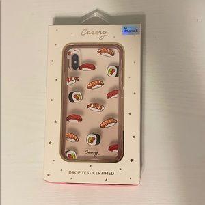 Cute IPhone X sushi phone case!